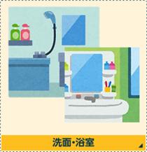 洗面・浴室のクリーニング